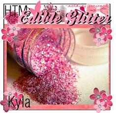 How To Make: Edible Glitter~1/4 cup sugar, 1/2 teaspoon food coloring, bake 10mins on cookie sheet