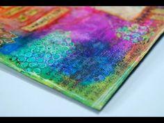 About the art journals (process videos) . Mixed Media Journal, Mixed Media Collage, Collage Art, Mixed Media Tutorials, Art Tutorials, Mix Media, Art Journal Pages, Art Journals, Moleskine