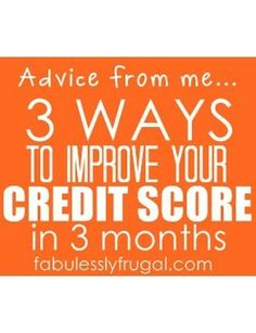 how to raise my credit score fast