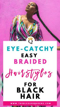 Eye-catchy Easy Braided Hairstyles For Black Hair - hair tutorials Box Braids Hairstyles, African Hairstyles, Summer Hairstyles, Layered Hairstyles, Easy Hairstyle, Hair Updo, Men's Hair, Black Hairstyles, Curly Hair With Bangs