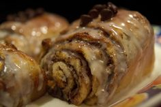 Chocolate roll-up recipe from Pampered Chef.