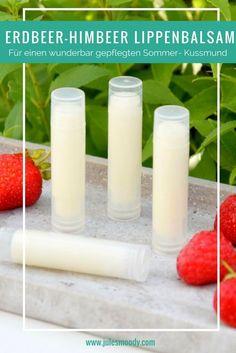 Erdbeer-Himbeer Lippenbalsam