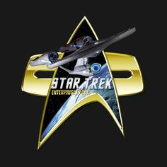Check out this awesome 'StarTrek+Enterprise+1701+A+Com+badge' design on @TeePublic!