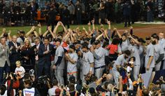 Triple H congratulates Astros with WWE title belt = As is tradition, WWE superstar Triple H has properly congratulated the Houston Astros on the team's World Series victory over the Los Angeles Dodgers. While providing.....