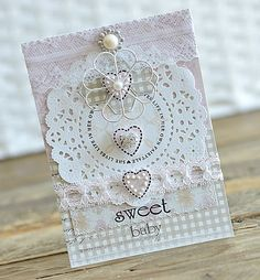 Paper Girl Crafts: Baby Card created with Maja Design Products