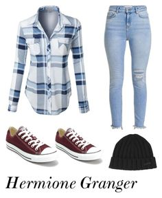 """""""Untitled #1"""" by anaccfal on Polyvore featuring LE3NO, Converse and Dsquared2"""