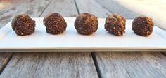 raw cacao and walnut truffles: sugar free, dairy free, gluten free