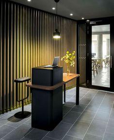 New OKKO Hotel by Patrick Norguet okko hotel entrance