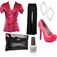 Night Out, created by jenhaught.polyvore.com