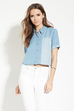 Contemporary Chambray Shirt