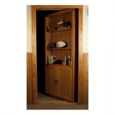 Production Secret Bookcase Door