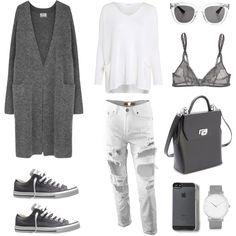 Comfort by fashionlandscape on Polyvore featuring Mode, Acne Studios, Crea Concept, Yasmine eslami, Converse, Royce Leather, Larsson & Jennings and Wonderland