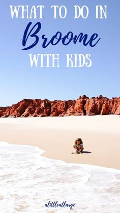 All the best things to do in Broome Western Australia with kids. Watch sunset at cable beach tour pe Outback Australia, Visit Australia, Australia Travel, Summer Travel, Travel With Kids, Family Travel, Winter Travel, Amazing Destinations, Travel Destinations