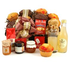For a jam and marmalade loving Dad -The Breakfast Hamper £29.99