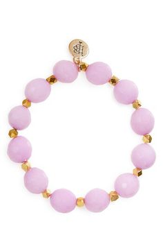 Bourbon and Boweties Bourbon and Boweties Stone Stretch Bracelet available at #Nordstrom
