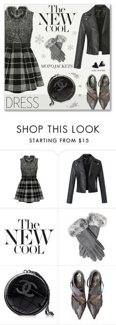 """Untitled #1041"" by pinky-chocolatte ❤ liked on Polyvore featuring Chanel"