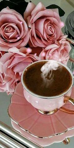 GIF descubierto por Iriska. Descubre (¡y guarda!) tus propias imágenes y videos en We Heart It Good Morning Coffee Gif, Good Morning Friends, Coffee Time, Good Morning Quotes, Beautiful Flowers Images, Beautiful Gif, Beautiful Roses, Tea Gif, Coffee Images