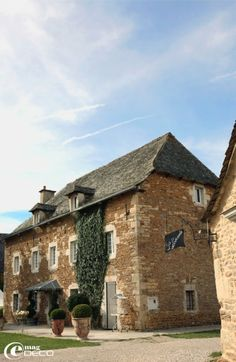 Stone farmhouse in France