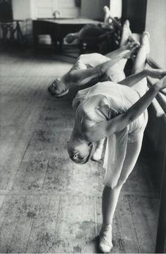 Class in Leningrad state Ballet Scool, 1965, Inge Morath. Austrian (1923 - 2002)