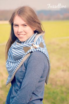 Wer hätte gedacht, dass Lieblingsteile so einfach sein können? Vor ein paar Wochen hat es Annelie vonAhoi mit dem Lütten Tuch gezeigt...