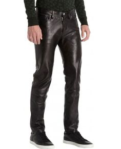 MenLeather PantsbyQuick Apparels We produce our Fashion Leather Jackets from high quality 100% Genuine Soft Leather with high quality zippers and accessories. Mostly we use high quality YKK Zippers and 100% Polyester Satin Lining, but we can use any brand zippers and can fully customize inside lining with your Brand. Multiple Pockets both inside and outside. Options available for both Thinsulate and Quilted 100% Polyester Additional Lining. Our leather jackets are available both in…