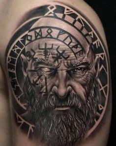 Photos of Slavic and Scandinavian Tattoos - Tattoos -.- Photos of Slavic and Scandinavian Tattoos – Tattoos – - Viking Tattoo Sleeve, Armor Tattoo, Norse Tattoo, Celtic Tattoos, 3d Tattoos, Body Art Tattoos, Sleeve Tattoos, Tattoos For Guys, Seal Tattoo