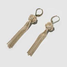 Big Knot Ohrringe 925 Sterling Silber von Saskia Diez.