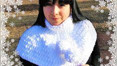 Patrigurumis: ❄ CUELLO EN CROCHET ❄ - DIY- FÁCIL - Talla única! Diy Paso A Paso, Crochet Diy, Crochet Videos, Lana, Free Pattern, Patterns, Youtube, Fashion, Crochet Cape