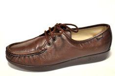 d933bab8872 SAS Genuine Hand Sewn Brown Leather Comfort Oxford Shoes Women 9 1 2N 9.5N