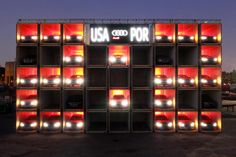 Activation: Must-See: Audi Builds Larger-Than-Life Scoreboard for the World Cup