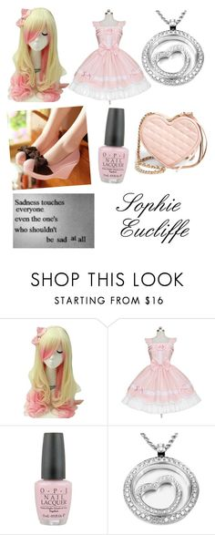 """""""Untitled #9"""" by alovesanime ❤ liked on Polyvore featuring OPI, Chopard and Rebecca Minkoff"""