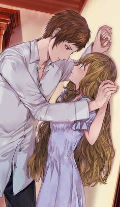 Anime Couples An intimate moment Hot Anime Couples, Romantic Anime Couples, Cute Couples, Manga Couple, Anime Love Couple, Couple Cartoon, Manga Romance, Photo Manga, Shall We Date