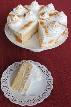 Exquisita Torta tres leches, una receta con la cual podrá lucirse. Yummy Treats, Delicious Desserts, Sweet Treats, Cuban Desserts, Bolo Tres Leches, Baking Recipes, Cake Recipes, Chilean Recipes, Peruvian Recipes