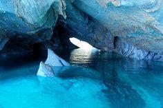 Le lac Carerra, Chili