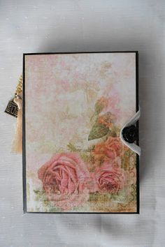 Crafting4fun: Little trifold notebook Romantica