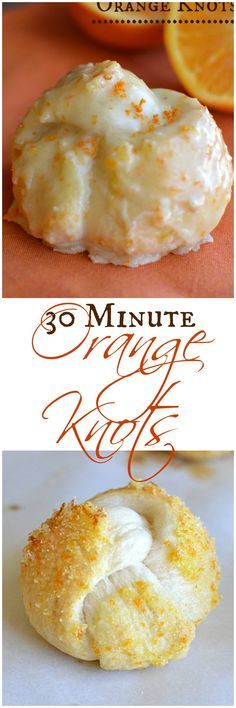 All the deliciousness of Orange Sweet Rolls with out all the fuss! Orange Knots are unbeatable!  Little Dairy on the Prairie