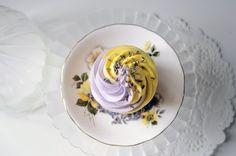 Summer Cupcake Flavour: Lemon & Lavender (at Juniper Cakery)