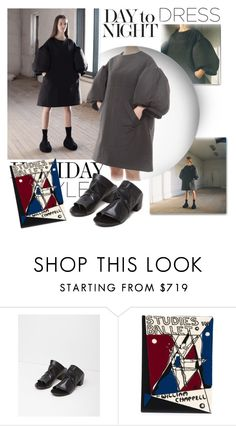 """""""Holiday Style: Oversized Dresses"""" by emavera ❤ liked on Polyvore featuring Orlebar Brown, Olympia Le-Tan, olympialetan, holidaystyle, Marsell, oversizeddress and goblank"""