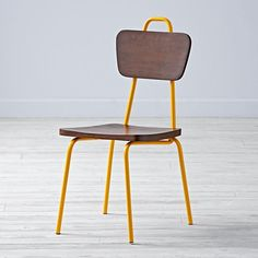 Candy Stick Play Chair (Mustard)    The Land of Nod