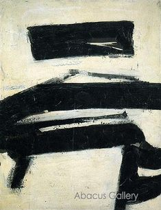 iconic Franz Kline art would be awesome!