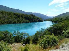 Río Baker, región de Aysén.