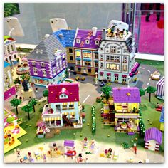 Heartlake City Model in Olivia's House LEGOLAND Windsor