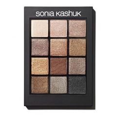 4* Sonia Kashuk Eye Shadow Eye Couture Palette $20 PROS: Sophisticated, neutral to brown shades that offer a true matte finish. Smooth texture and application whose color payoff is easy to build. Lasts without fading or creasing. Palette is easy to store or travel with. CONS: Texture is drier than usual, resulting in the finish for each shade being more drab rather than dimensional.
