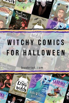 Witchy Comics For Halloween From BookRiot.com | Witch Comics | Comic Books | Halloween | Books | Reading | #Books #Witches #Reading #Comics