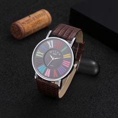 Hot Sale Luxury Brand Watch Women Watch Fashion Leather Quartz Watch Ladies Watches Hour Clock montre femme relogio feminino
