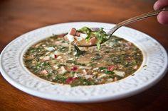 Окрошка – холодный суп на квасе
