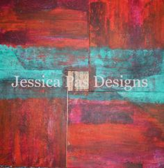 Helix - 4 piece canvas on jessicapasdesigns.com