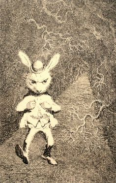 mervyn peake alice in wonderland | Alice's Illustrated Adventures In Wonderland