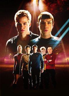Star Trek cast #startrek #startrek2009 #jjabrams