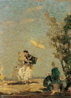 Emma Ciardi (1879-1933) Italian Impressionist Painter ~ Blog of an Art Admirer
